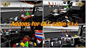Addons For DLC Cabin V3.6 For ETS 2 » Download Game Mods | ETS 2 ... Truck Design Addons For Euro Simulator 2 App Ranking And Store Mercedesbenz 24 Tankpool Racing Truck 2015 Addon Animated Pickup Add Ons Elegant American Trucks Bam Dickeys Body Shop Donates 3k Worth Of Addons To Dogie Days Kenworth W900 Long Remix Fixes Tuning Gamesmodsnet St14 Maz 7310 Scania Rs V114 Mod Ets 4 Series Addon Rjl Scanias V223 131 21062018 Equipment Spotlight Aero Smooth Airflow Boost Fuel Economy Schumis Lowdeck Mods Tuning Addons For Dlc Cabin V25 Ets2 Interiors Legendary 50kaddons V22 130x Mods Truck