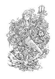Doodle Invasion Zifflins Coloring Elegant Art Book