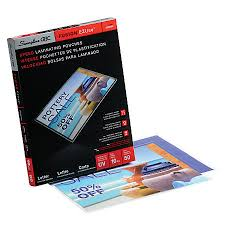 Swingline GBC EZUse Thermal Laminating Pouches Letter Size 10 Mil