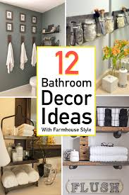 Bathroom Decorating Accessories And Ideas 12 Stylish Functional Bathroom Decor Ideas The Unlikely