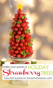 Christmas Tree Meringues by Serve Strawberries At Your Holiday Party Like This Easy Diy