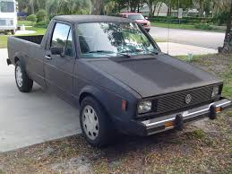 100 Rabbit Truck 1980 VW MK1 Caddy Pickup