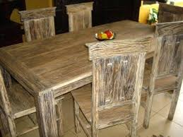 Creative White Country Dining Table Collection Room Ideas Rustic Wood