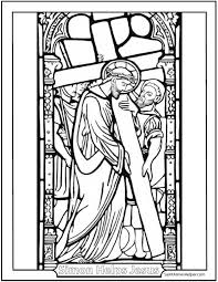 Full Size Of Coloring Pagelent Pages Lent Carrying The Cross1