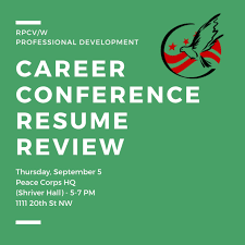 Career Conference Resume Review - RPCV/W Cover Letter For Veterinary Internship Chronological Resume Resume Peace Corps Sample Lovely Writing The Free Volunteer Examples Template Mock Free Excel Mplates Application Workshop Informational Session Pcv Rsum Thailand Magazine Elegant Example Of
