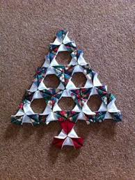 Folded Fabric Christmas Tree A Tutorial Trees