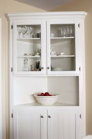 Idea For Dining Area White Farmhouse Corner Cabinet Room Ideas