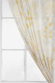 stylish grey and yellow window curtains and yellow and grey window