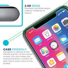 Apple iPhone X Screen Protector Premium HD Clear Ballistic Glass