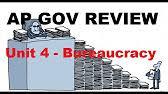 ap gov review cabinets independent regulatory agencies unit 4