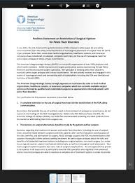 Pelvic Floor Spasms Female by American Urogynecological Association Position Statement On The