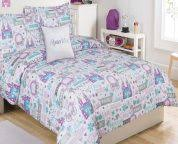 Tinkerbell Toddler Bedding by Purple Yellow Garden Tinker Bell Themed Toddler Bedding Set For