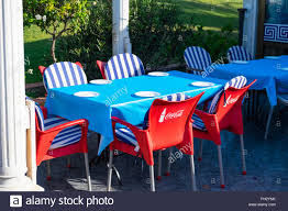 Empty Table And Chairs Outside A Restaurant With Coca Cola ... Very First Coke Was Bordeaux Mixed With Cocaine Daily Mail Cool Retro Dinettes 1950s Style Cadian Made Chrome Sets How To Remove Soft Drink Stains From Fabric Pizza Saver Wikipedia Pin On My Art Projects 111 Navy Chair Cacola American Fif Tea Z Restaurantcacola Coca Cola Brand Low Undermines Plastic Recycling Efforts Pnic Time 811009160 Bottle Table Set Barber And Osgerbys On Chair For Emeco Can Be Recycled