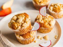 apfelmuffins mit streuseln einfaches rezept zum selbermachen