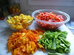 cuisiner les poivrons 15 octobre zut les poivrons sont verts ils ne veulent pas