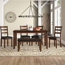 Seats 6 Kitchen & Dining Room Sets You'll Love In 2019 | Wayfair Buy Round Kitchen Ding Room Sets Online At Overstock Amish Fniture Hand Crafted Solid Wood Pedestal Tables Starowislna 5421 54 Inch Country Table With Distressed Painted Pedestal Typical Measurements Hunker Caster Chair Company 7 Piece Set We5z9072 Wood Picture Decor 580 Tables World Interiors Austin Tx Clearance Center Dinettes And Collections Costco Saarinen Tulip Marble