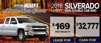 Heiser Chevrolet In West Bend | Serving Cedarburg, Menomonee Falls ... Ram 1500 Specials Offers Prices Near Green Bay Wi Wisconsin Sport Trucks 06 29 2017 Youtube Badger State Large Cars Big Rigs Dodge County Fairgrounds Swant Graber Ford New 82019 Used Car Dealer In Barron Scotty Larson On Twitter First Truck Feature Win Concept Flashback 2004 Mitsubishi Intertional Raceway Frrc 714 White Race Dons Auto The Bollinger B1 Is An Allectric Truck With 360 Horsepower And Up Atlanta Investment Firm Scoops Culvers Stock Madison Fagan Trailer Janesville Sells Isuzu Chevrolet