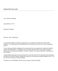 Cover Letter For Nursing Assistant Position Cna Deanroutechoiceco Download