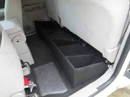 SilveradoSierra.com • How To Build A Under Seat Storage Box : How-To ... Firearm Storage In Trucks Firearms Gears Pinterest Guns Amazoncom Duha Under Seat Storage Fits 0307 Ford F250 Thru F Svt Raptor Supercrew Bug Out Dino Image S Truck Bed Gun Blackwood Locke Finest Bespoke Outdoor Rhpinterestie White For Rgid Sticker Vinyl Decal Tool Box Safe Car Choose 2005 F150 Duha And Case Rear Fast Model 40 Secureit By Neal Jones Designed To Be Fitted Into The Back Of A T Talk 70200 Humpstor Unittool Boxgun Sold Trap Shooters Forum