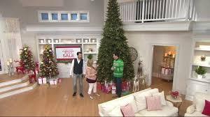 Qvc Christmas Tree Storage Bag by Scott Living 5 U0027 Color Flip Led Fir Christmas Tree W 7 Functions