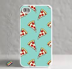 Apple iPhone 4 4S Yummy Cheese Cheesy Pizza Slices Slice Case Nom