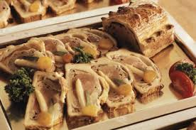 herstellung speisen für die kalte küche des swissair