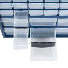 Akro Mils 26 Drawer Storage Cabinet stalwart deluxe 42 drawer compartment storage box walmart com