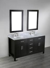 bosconi 60 inch contemporary double sink vanity white carrera