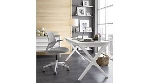 Crate And Barrel 2 Office Chair by Spotlight White 58