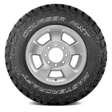 100 Mastercraft Truck Equipment MASTERCRAFT COURSER MXT WITH OUTLINED WHITE LETTERING Wheel And