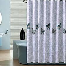 decmay anti schimmel duschvorhang 180x180cm wasserdicht anti