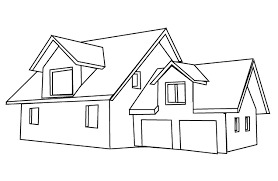 House Colouring Pages Minecraft Coloring