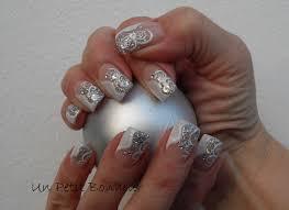 deco ongle gel noel des paillettes pour noël nail par un petit bonheur