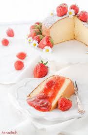 kondensmilchkuchen rezept mit rhabarber erdbeer kompott einfach