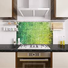 grazdesign küchenrückwand glas grün mosaik spritzschutz