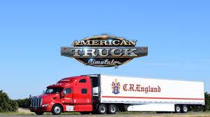 100 Cr England Truck AMERICAN TRUCK SIMULATOR EP 121 CR ENGLAND RUN