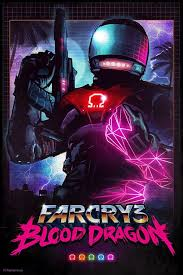 With Aside From The Main FarCry Blood Dragon Box Art I Also Did This One Might Be My Favourite