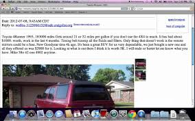 Craigslist Texoma Oklahoma Used Cars, Trucks And Vans - FSBO Popular ... Craigslist Scam Ads Dected On 2014 Vehicle Scams Google Craigslist Texoma Cars And Trucks Kenworth T At Hino In Silverado Ford F150 Gmc Sierra Lowest 1500 Youtube Los Angeles California Gallery Of Houston Tx For Sale By Owner Ft Bbq Toyota Tundra Wallet Ebay Motors Amazon Payments Ebillme Mack Dump 697 Listings Page 1 Of 28