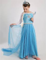 wholesale brand frozen girls dresses elsa anna fall dress girls