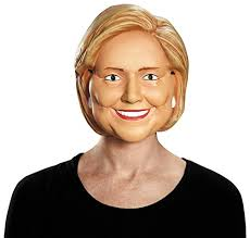 Purge Masks Halloween City by Disguise Costumes Hillary Clinton Vacuform 1 2 Mask Amazon