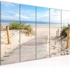 bild strand meer kunstdruck vlies leinwandbild