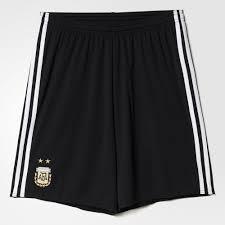 adidas argentina home shorts 2016 17 black