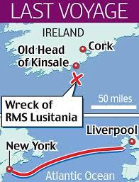 lusitania wreck location google search lusitania pinterest