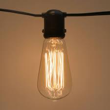 sival st18 vintage antique edison light bulb
