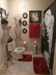 Luv The Red And Black Marilyn Monroe Bathroom... | Marilyn Monroe ... Red Bathroom Babys Room Bathroom Red Modern White Grey Bathrooms And 12 Accent Ideas To Fall In Love With Fantastic Design Floor Tub Small Master Bath Paint Pating Decor Design Orange County Los Angeles Real Blue Yellow Accsories Gray Kitchen And Inspiration Behr Style Classic Toilet Retro Dilemma Colors Or Wallpaper For Dianes Kitschy Interior Mesmerizing Fniturered