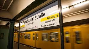 Berliner Kã Che Berlin U Bahn Linie 5 Fährt Durch Bis Hauptbahnhof 10