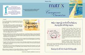 Matrix Home Care – Winter Newsletter