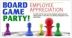 Board Game Themed Employee Appreciation