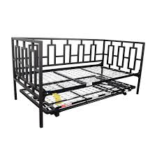Macys Bed Headboards by 65 Off Macy U0027s Macy U0027s Black Metal Framed Day Twin Bed With