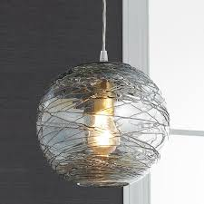 pendant lighting ideas modern design large glass globe pendant